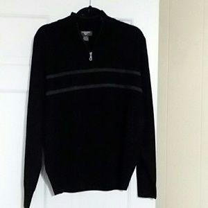 NWOT Dockers mens 1/4 zip sweater.  Size M